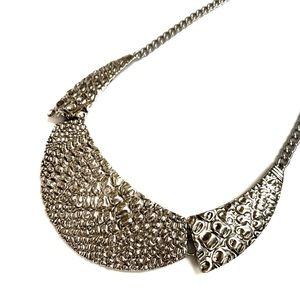 HP • 🆕 | vintage hammered collar necklace |